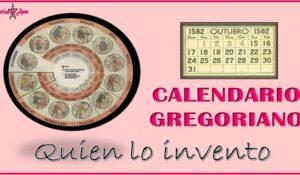Origen del calendario gregoriano