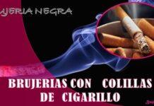 brujerias con cigarillo